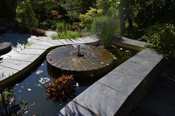 Mediterranean garden image