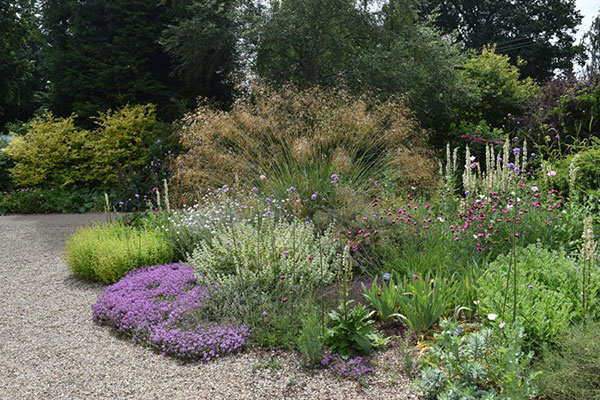 Mediterranean Garden at RHS Hyde Hall