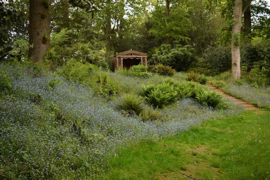 The Dell Summerhouse at Blickling Gardens