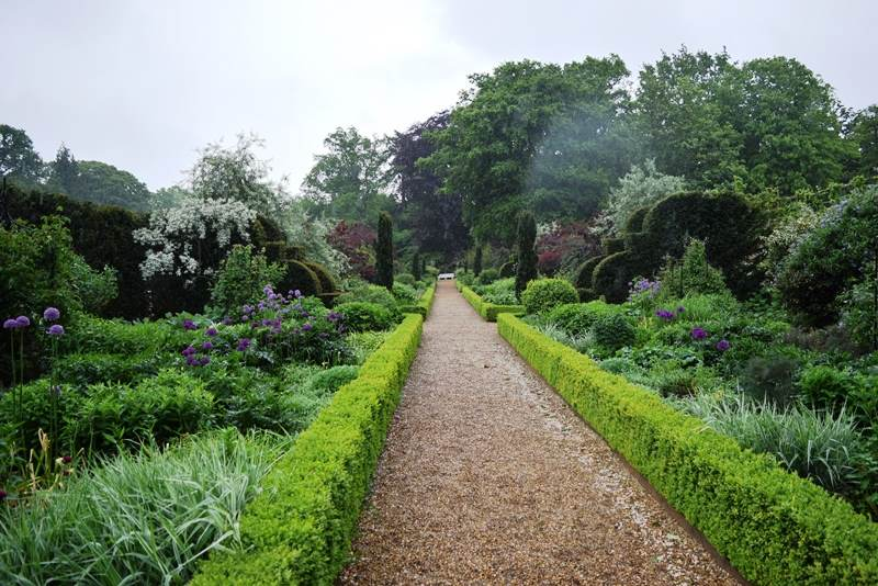 The Double Border at Blickling Hall