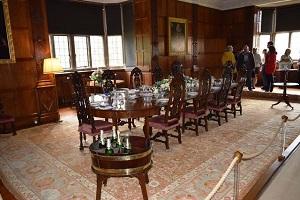 The dining room at blickling hall