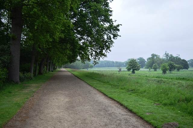 rolling farmland around blickling hall