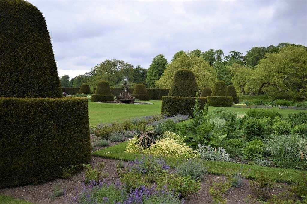 The parterre at blickling hall