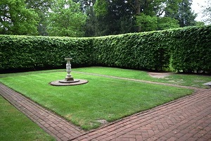 secret garden at blickling gardens